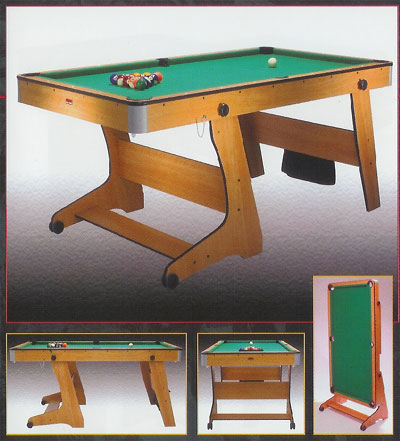 6ft foldaway Pool Table