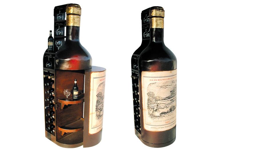 Bttle Wine Cabinet
