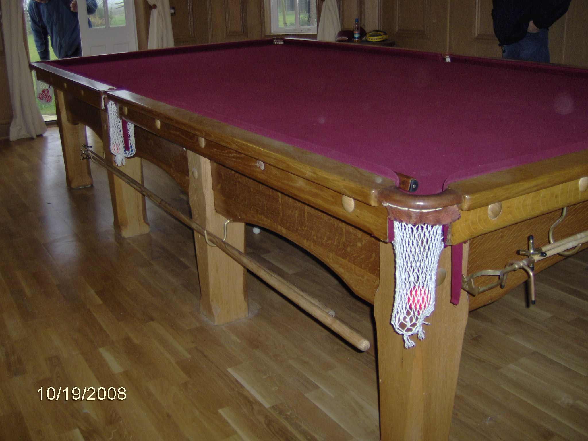 snooker table 12 x 6